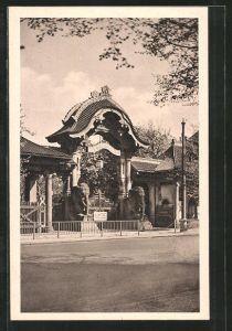 AK Berlin, Eingang zum Zoologischen Garten