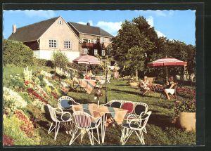 AK Altastenberg, Garten des Hotel-Pension