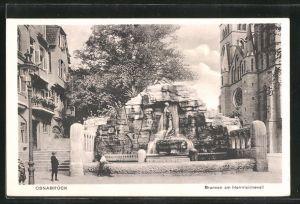 AK Osnabrück, Brunnen am Herrnteichswall