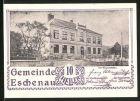 Notgeld Eschenau im Pinzgau 1920, 10 Heller, Rathaus