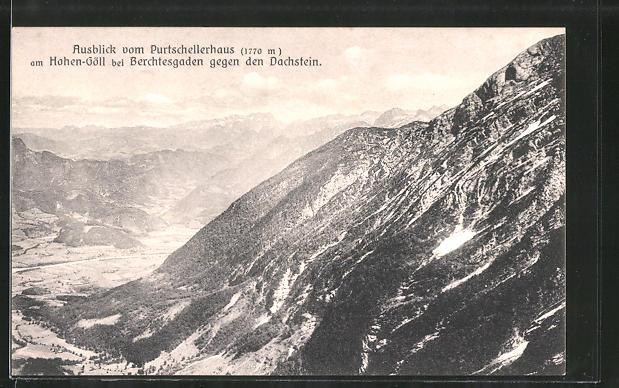 AK Purtschellerhaus am Hohen-Göll bei Berchtesgarden