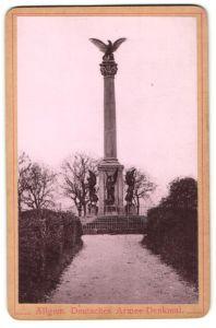 Fotografie Fotograf unbekannt, Ansicht Fröschweiler, Deutsches Armee-Denkmal