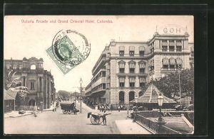 AK Colombo, Victoria Arcade and Grand Oriental Hotel