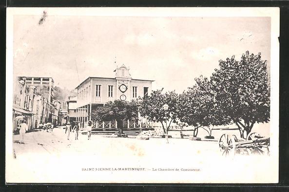 AK Saint Pierre, La Chambre de Commerce