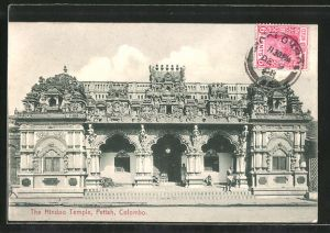 AK Colombo, The Hindoo Temple Pettah