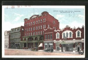 AK Wilmington, NC, Orton Hotel and Royal Theatre