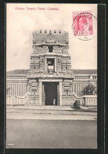 AK Colombo, Hindoo Temple Pettah
