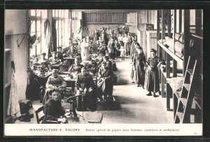 AK Forgues, Manufacture E. Paory, Atelier special de pigure pour hommes