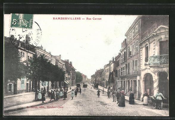 AK Rambervillers, Strassenpartie