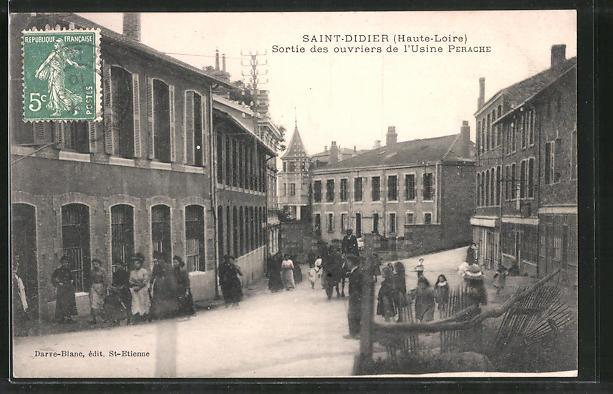 AK Saint Didier, Sortie des ouvriers de l'Usine Perache