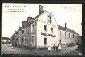 AK Champignelles, Hotel de l'Étoile