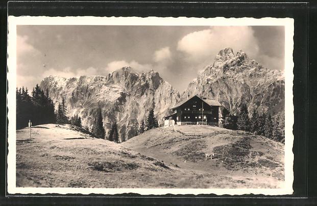 ak modlinger hutte berghutte am reichenstein 0