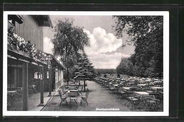 AK Schkeuditz, Gasthaus Domholzschänke Nr. 7394715 - oldthing ...