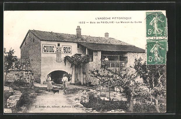 AK Bois de Paiolive, La Maison du Guide du Bois