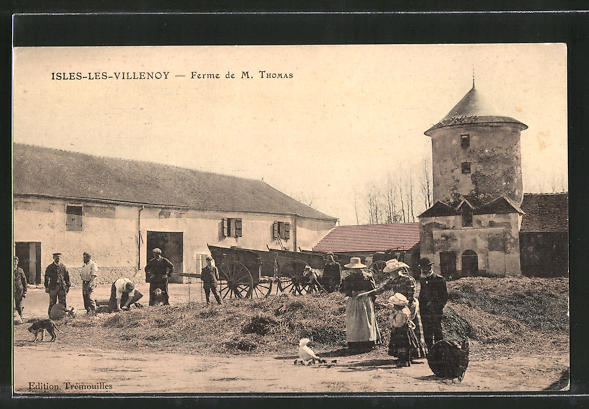 AK Isles les Villenoy, Ferme de M. Thomas