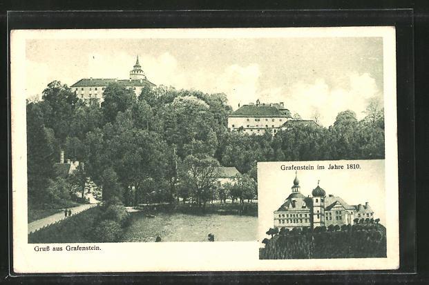 AK Grafenstein, Ortsansicht, Schloss Grafenstein 0