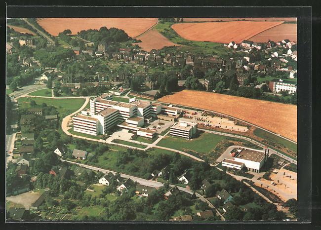 AK Dortmund, Ev. Krankenhaus aus der Vogelschau