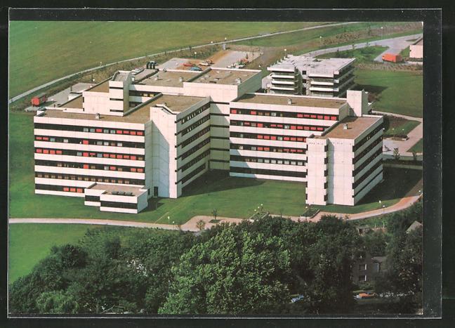 AK Dortmund, Blick zum Ev. Krankenhaus