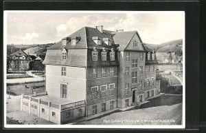 AK Bad Colberg, Blick auf das Wirtschaftsgebäude