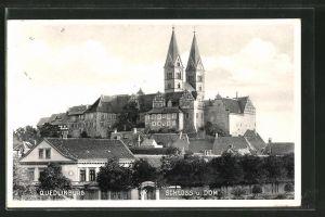 AK Quedlinburg, Schloss und Dom 0