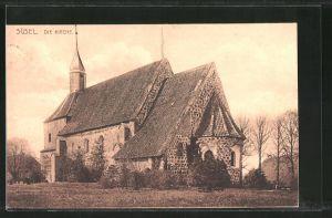 AK Süsel, Blick zur Kirche 0