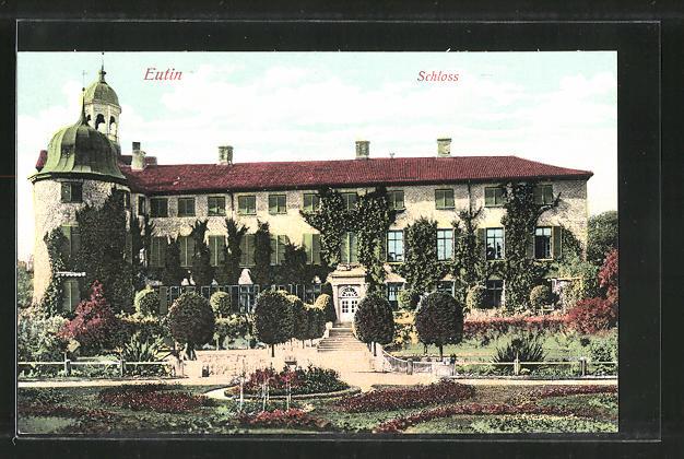 AK Eutin, Blick zum Schloss 0