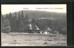 AK Bischofsgrün, Gasthaus Waldhaus Karches