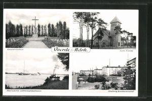 AK Voerde, Ehrenfriedhof, Kath. Kirche, Siedlung Buschmannshof 0