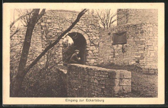 AK Eckartsberga, Eingang zur Eckartsburg 0