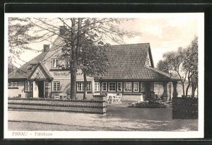 AK Eutin, Gasthof Fährhaus Fissau