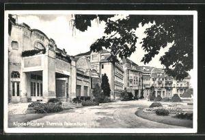AK Kúpele Piestany / Bad Pistyan, Thermia Palace Hotel, Thermia Palace Hotel mit Irmabad