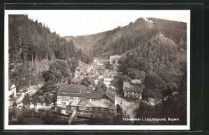 AK Falkenstein, Ortspartie im Gebirge