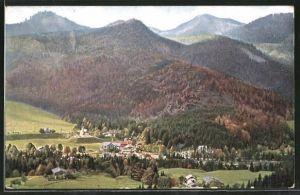 AK Kreuth, Ortspartie im Gebirge