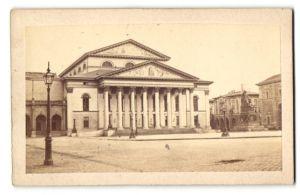 Fotografie Fotograf unbekannt, Ansicht München, Partie am Nationaltheater