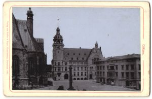 Fotografie Zedler & Vogel, Darmstadt, Ansicht Köthen, Partie am Rathaus