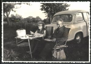 Fotografie Auto Sachsenring Trabant 600