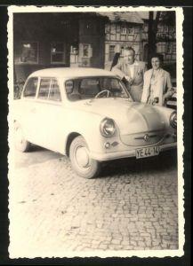 Fotografie Fiedler, Neustadt / Südharz, Auto Sachsenring Trabant 600