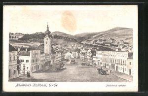 AK Neumarkt-Kallham, Blick auf den Hauptplatz