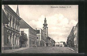 AK Neumarkt-Kallham, Strassenpartie im Zentrum