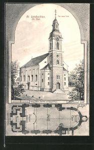 AK St. Lambrechten, Der neue Turm