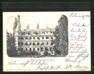 AK Puchberg, Blick zum Schloss