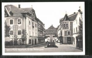 AK Peuerbach, Partie in der Kirchengasse