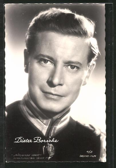 AK Schauspieler Dieter Borsche in