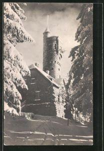 AK Ameisberg, Ameisberg-Warte im Winter