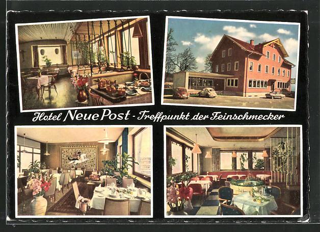 AK Biessenhofen, Hotel Neue Post