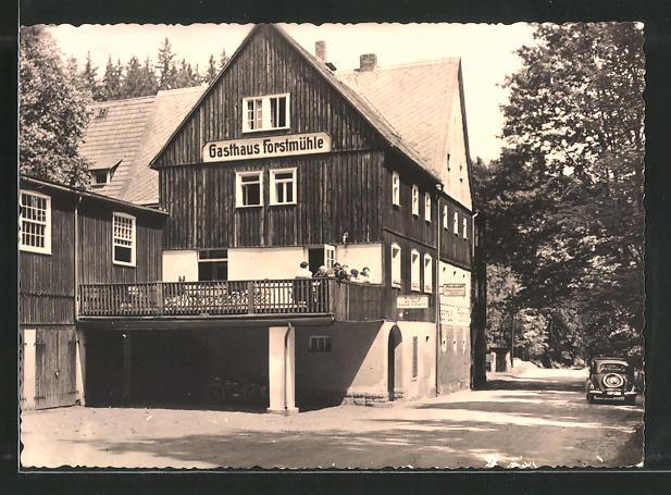 AK Kleingiesshübel, Forstmühle im Krippengrund