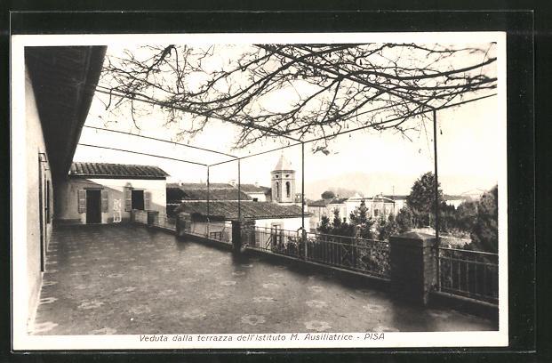 AK Pisa, Veduta dalla terrazza dell\'Istituto M. Ausiliatrice Nr ...