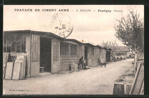 AK Pontigny, Travaux en Ciment Arme
