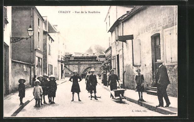 AK Chagny, Rue de la Bouthiere