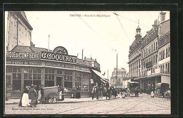 AK Troyes, Rue de la Republique